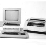 Bürocomputer EC 1834, damalige Bezeichnung Arbeitsplatzcomputer A 7100, 1985 86, Teamwork, (mit Nietzold, Markmann und Schöne), Foto 7a: F. Hofmann, Karl-Marx-Stadt 1987 Gutes Design