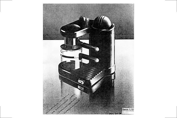 12.1 form LIII Espressommaschine