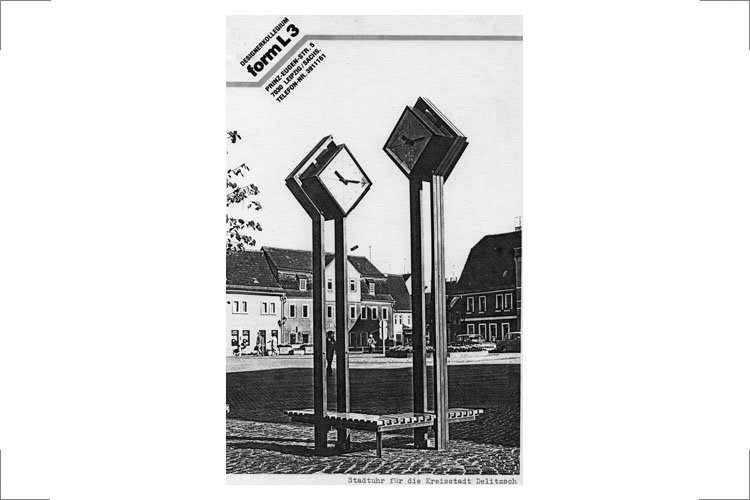 15.1 Stadtuhr Delitzsch