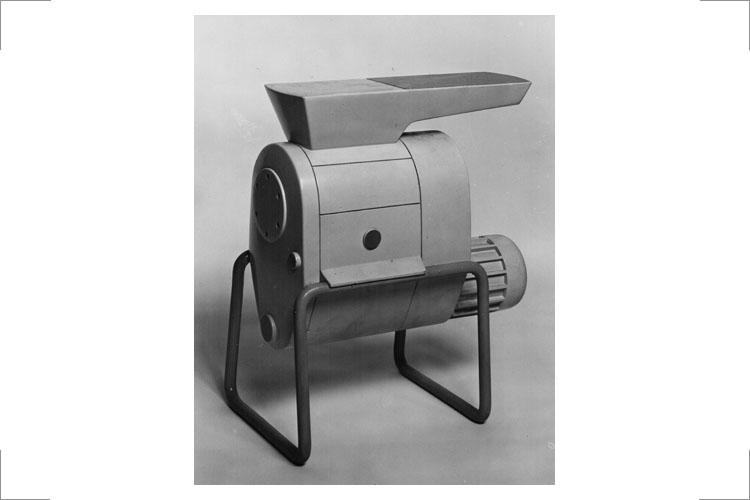 18 Schneidmühle (Redesign), etwa 1963, Entwurf: Günter Reißmann, Hersteller: VEB Pumpenwerke Halle, (Fotos: Ziegler, Halle)