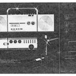 6.4 Tragbares Radio mit abnehmbaren Boxen Variante 1 1986